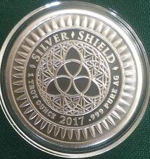 Slave Queen BU #2 - 1 oz 2017 Slave BRIDE B.U.999 Silver Shield Airtite COA 999