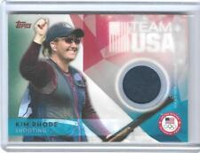 AWESOME 2016 TOPPS OLYMPIC KIM RHODE RELIC CARD ~ USA SHOOTING TEAM