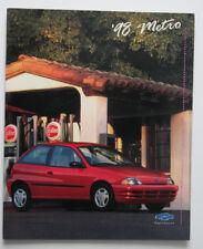 CHEVROLET METRO 1998 dealer brochure - English - Canada - ST1002000218
