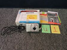 HP PHOTOSMART M527 DIGITAL CAMERA CAMCORDER 6.0 MEGA PIXEL MP PICTURE USED
