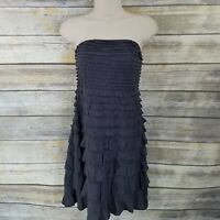 Nwt Express Tiered Lace Fit And Flare Dress Sold Out Sz 6