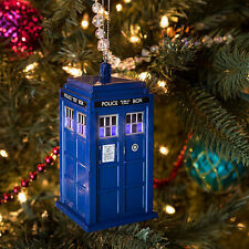 BBC DOCTOR WHO LIGHTED TARDIS ORNAMENT - TARDIS Ornament - Officially Licensed