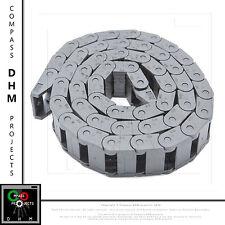 Catena passacavi plastica 10 x 15 mm 1 m portacavi 10mm stampanti 3D CNC Reprap