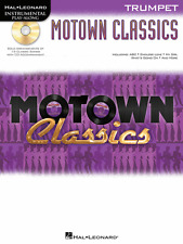 """MOTOWN CLASSICS"" INSTRUMENTAL PLAY-ALONG ""TRUMPET"" MUSIC BOOK/CD-NEW ON SALE!!"