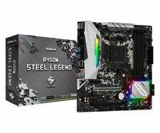 ASRock B450M Steel Legend, AMD AM4 Motherboard