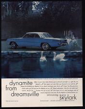 1961 BUICK SKYLARK Car - Dynamite From Dreamsville - Swans - VINTAGE AD