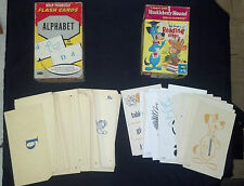 Vintage I Learn With Huckleberry Hound w Baba Logey ED-U-CARDS Educational w/Box