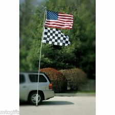 16' Telescoping Portable Flagpole Football Tailgating / NASCAR # 11131