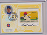 KERRY WOOD 2005 LEAF CENTURY COLLECTION AUTO STAMP RELIC 1/1
