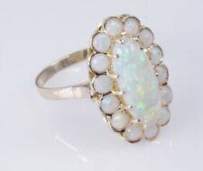 """Opal Estate Hand Made Ring 14K Rose Gold Size 7 1/2  WHOLESALE Near 1""""  Wide"""