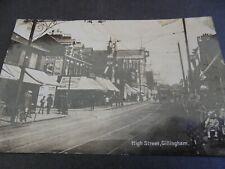 More details for old postcard high street gillingham used 1934