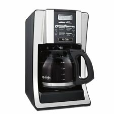 Mr. Coffee BVMC-SJX33GT-AM 12-Cup Programmable Coffee Maker, Chrome