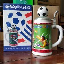 Budweiser Stein Collector World Cup USA 94 Socer Stein Mug Limited Edition 17519