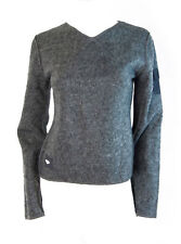 Kangaroo Poo Tensing Womens Fleece Sweatshirt Jumper Top (Grey) - 14
