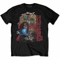 Guns N Roses Stacked Skulls Official Hard Rock Axl Rose Slash Black Mens T-shirt