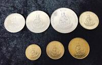 VANUATU SET 7 COINS 1 2 5 10 20 50 100 VATU 1999-2010 Conch CRAB UNC