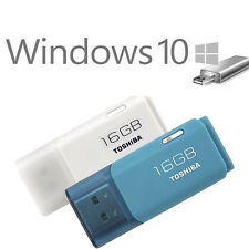Windows 10 32+64 bits 16GB USB 2.0 Unidad Flash Stick Casa Profesional De Arranque