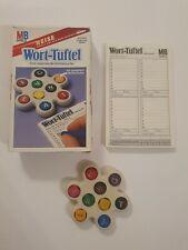 Wort-Tüftel von MB Spiele Reise Edition alte Ausgabe aus 1984