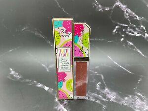 Too Faced Tutti Frutti Juicy Fruits Comfort Lip Glaze - Yummy Rummy - 0.24 oz