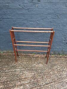 Vintage Wooden Freestanding towel stand 84cm x 76cm