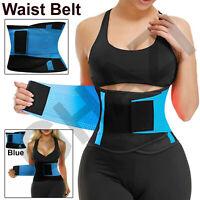 Cincher Waist Trainer Trimmer Sweat Belt Women Men Shapewear Gym Body Shaper LOT