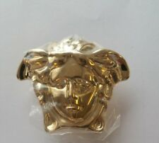 Men's designer Belt Buckle. Gold Tone..