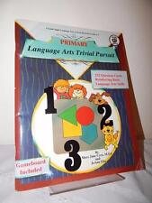 LANGUAGE ARTS TRIVIAL PURSUIT Game Activity Book Grade 1 2 3 Fun Learning Class