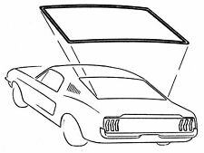 65-68 MUSTANG COUPE REAR WINDOW WEATHERSTRIP