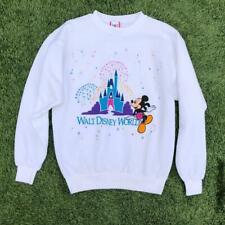 VTG 80s/90s Disney Designs Mickey Castle Magic Kingdom Sweat Shirt L/XL