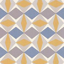 Skandinavia Oslo Wallpaper 51144002 Mostaza, Dresden y Gris