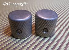 aged KNOBS fit Fender USA Telecaster Esquire Pbass 1960s flat top RELIC