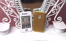 Dollhouse Miniature Gold Iphone Cell Phone Mobile Smart Apple 1:12 Scale
