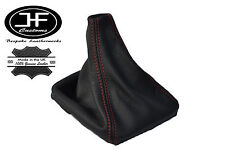 RED STITCH LEATHER MANUAL GEAR GAITER SHIFT BOOT FITS VOLVO S70 V70 1996-2007