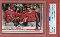 2019 Topps Series 2 #US189 Mike Trout Ohtani PSA 6 EX-MINT Los Angeles Angels