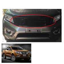 Front Grill Grille Net Black Nissan NP300 Frontier Navara Frontier fit 2015 16 +