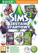Pc Sims 3 Starter Set with Base Game+Add-On Late Night & Luxux-Accessoires New