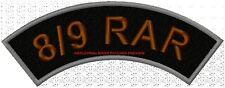 8/9 RAR ROCKER 200mm - EMBROIDERED BIKER PATCH
