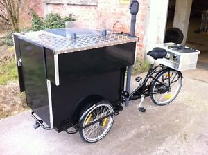 Grillfahrrad, Grillwagen, Foodbike das Original NEU Food 3