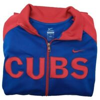 Nike Chicago Cubs Men's XL Blue Red Full Zip Track Jacket 29033x