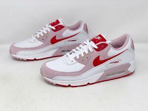 Nike Air Max 90 'Valentine's Day' White Pink Sneaker, Size 12 BNIB DD8029-100
