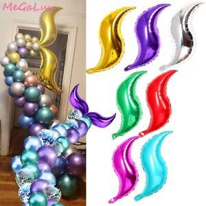 18 Inch Mermaid Tail Balloon DIY Inflatable Children's Birthday Decoration