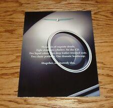Original 2002 Ford Thunderbird Folder Poster Sales Brochure 02
