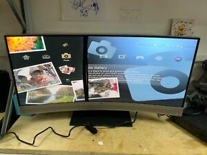"""HP EliteDisplay S340c Bang & Olufsen Monitor - 34"""" Curved Spares Or Repair"""