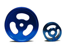 OBX Blue Pulley Kit Fits 04-08 TSX, 03-07 Honda Accord, 02-04 Acura RSX-S