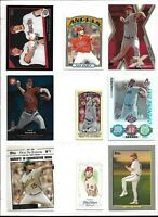 DAN HAREN (OAKLAND ATHLETICS) - 60 DIFFERENT BASEBALL CARD LOT W/INSERTS