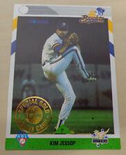 1993 Futera ABL Kim Jessop GOLD SEAL 1/100 Aussie Baseball League - Bandits
