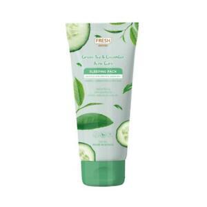Fresh Skinlab Green Tea and Cucumber Sleeping Pack