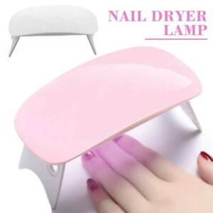 36W LED UV Nail Polish Dryer Lamp Gel Acrylic Curing Light Spa Professional