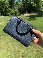 New Coach Extra Micro Bennett Star Glitter Crossbody Satchel Bag Rasp F37747