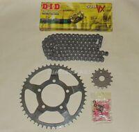 DID Grey X-Ring Chain & JT Sprocket Kit For Suzuki GSF600 Bandit 95-99 MK1